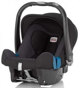 Britax baby Safe Plus II SHR Car Seat in Black Thunder